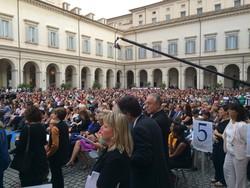 Anche molti bergamaschi a Roma