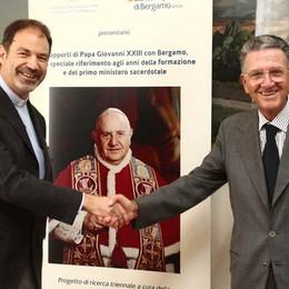 I rapporti di  Roncalli con Bergamo  Un progetto triennale di studio
