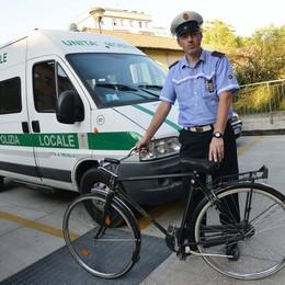 La bici era un'esca, con il gps  Treviglio: ladri presi dai vigili