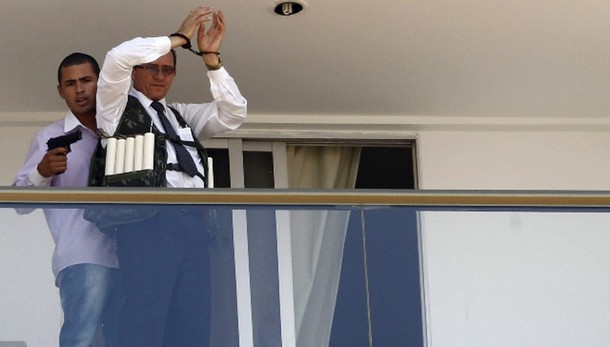 Arreso sequestratore hotel Brasilia