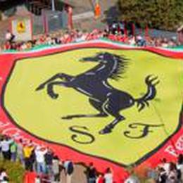 Il Ferrari club di Caprino a Maranello  Il cuore per ringraziare Montezemolo