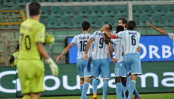 Posticipo serie A: Palermo-Lazio 0-4
