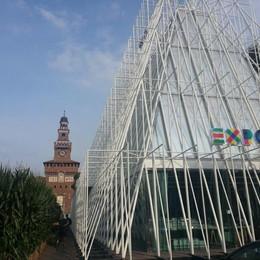 Mais, prove tecniche di Expo  È la star al Castello Sforzesco