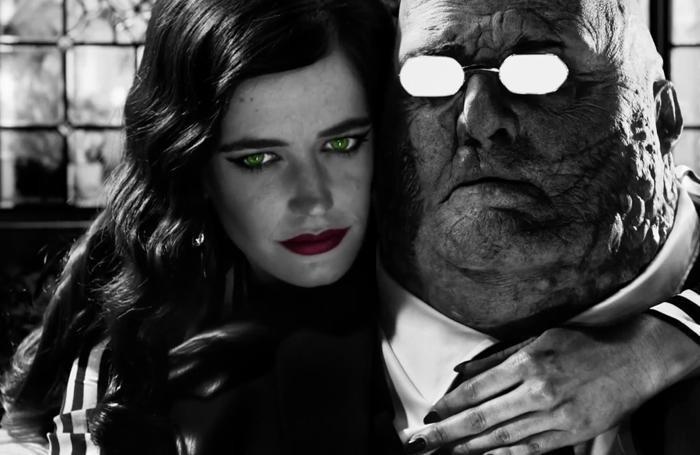 «Sin City – Una donna per cui uccidere». Uno scatto tratto dalla pellicola