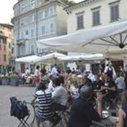 L'estate verso la conclusione  Bergamo non si è mai svuotata
