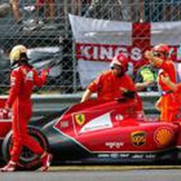 Disastro della Ferrari a Monza  Ritiro di Alonso, vince Hamilton