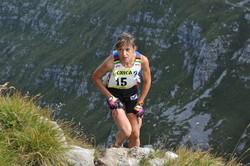 Emanuela Brivi, vincitrice della Maga Skymarathon 2013