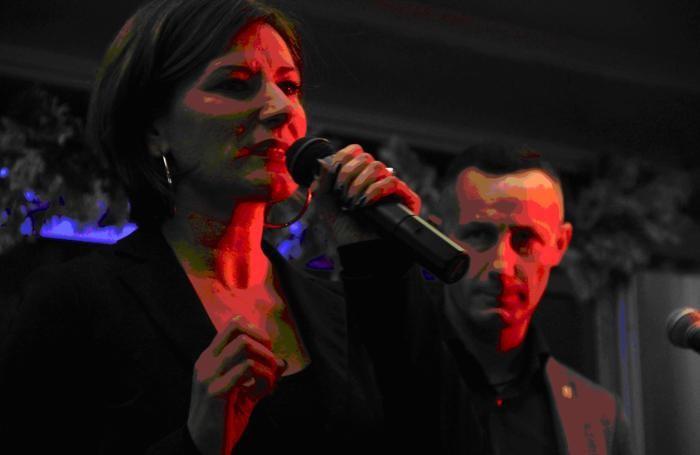 Claudia Marchetti con Corrado Cacioli