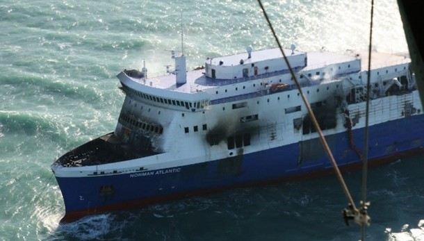 Norman Atlantic ancora in acque albanesi