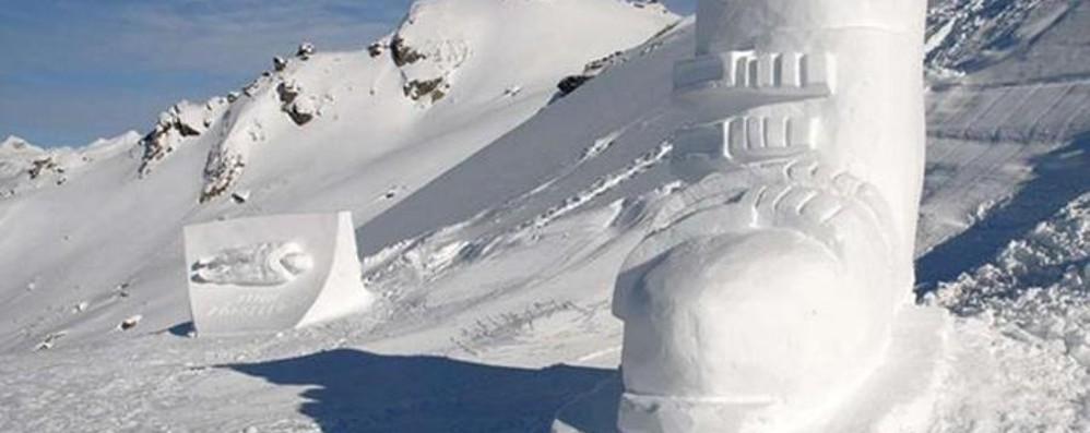Sculture di ghiaccio Concorso per le vie del paese