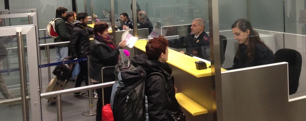 Sicurezza in aeroporto, giro di vite 1.100 controllati. Arresti   e denunce