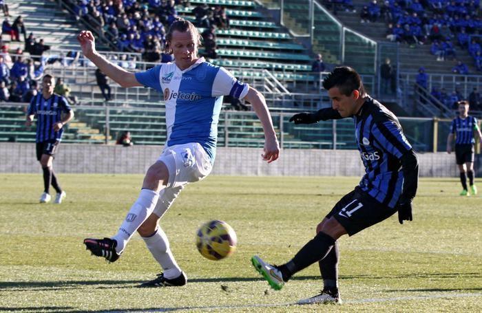 Il centrocampista dell'Atalanta Maximiliano Moralez