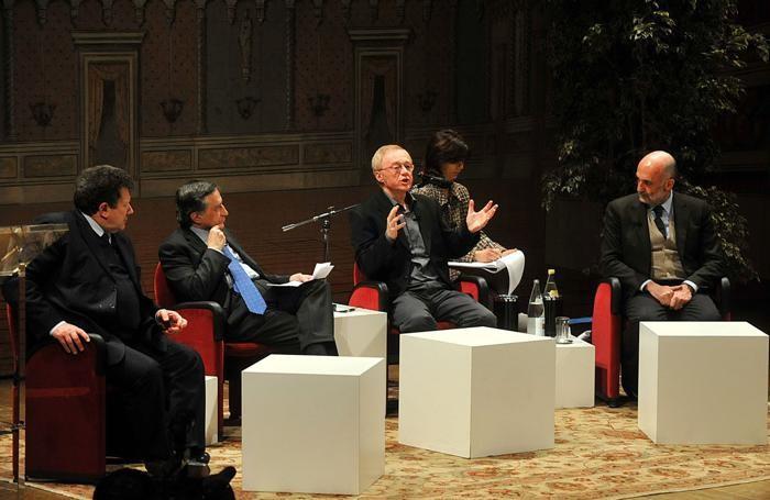 Grossman a Bergamo nel 2009 per la «Giornata della Memoria»