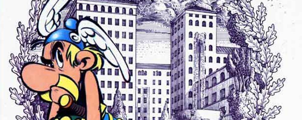Asterix sbarca nel regno degli dei  Appuntamento a fumetti con Bergomix