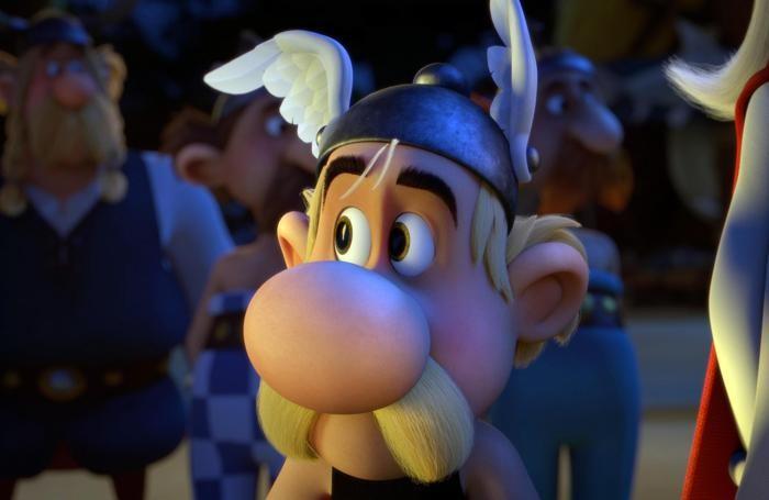 Una scena del film «Asterix e il regno degli dei»ANSA