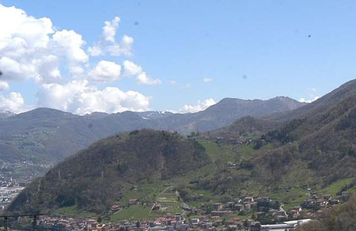 Panorama della Valle Brembana