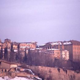 Città Alta a fine gennaio 1985