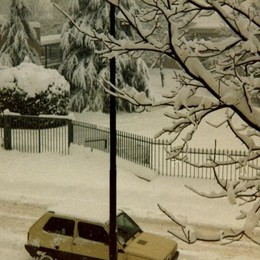 La nevicata dell'85 in zona Longuelo-Polaresco