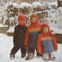 La gioia dei bambini: Michele, Giorgio e Marco