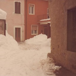 Gli effetti della nevicata