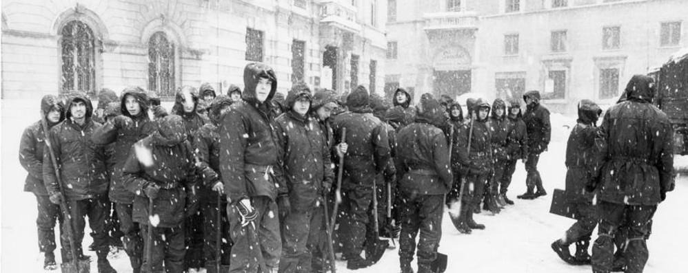 Trent'anni fa, quanta neve Ecco le fotogallery e il video
