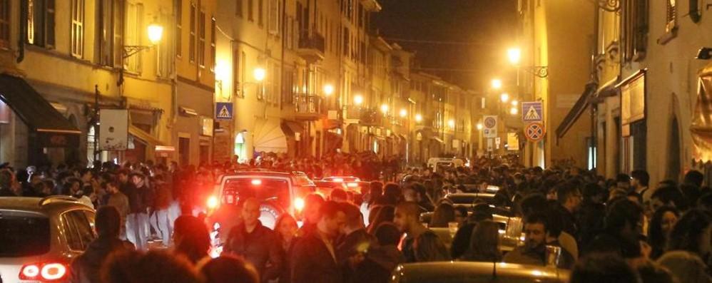 Movida in Borgo Santa Caterina Il Comune: nostre ragioni reggono