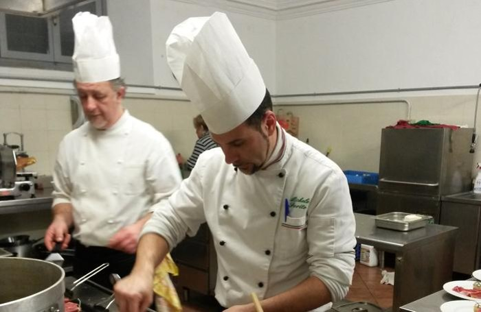 Miki Chef al lavoro