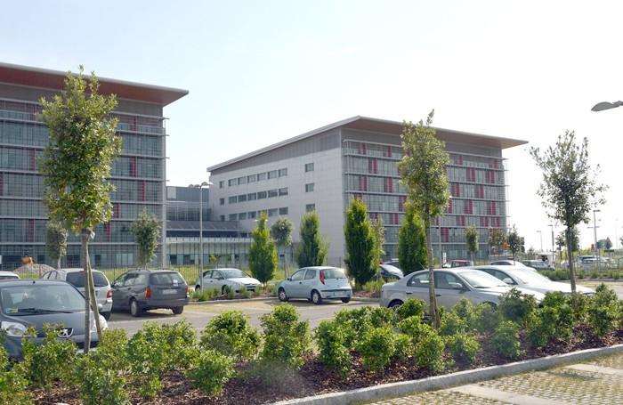 L'ospedale Papa Giovanni XXIII