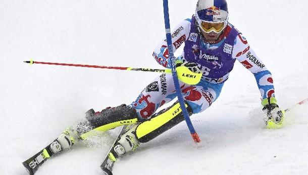 Sci:Cdm, Gross 2/o in slalom Wengen