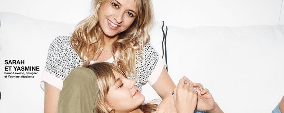 Mamma e figlia per Comptoir des Cotonniers