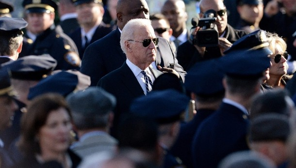 Usa: spari davanti alla casa di Biden