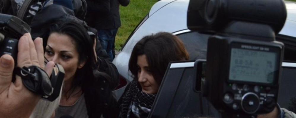 Vanessa è tornata a Verdello - Video «Grazie a chi ha lavorato per il rilascio»