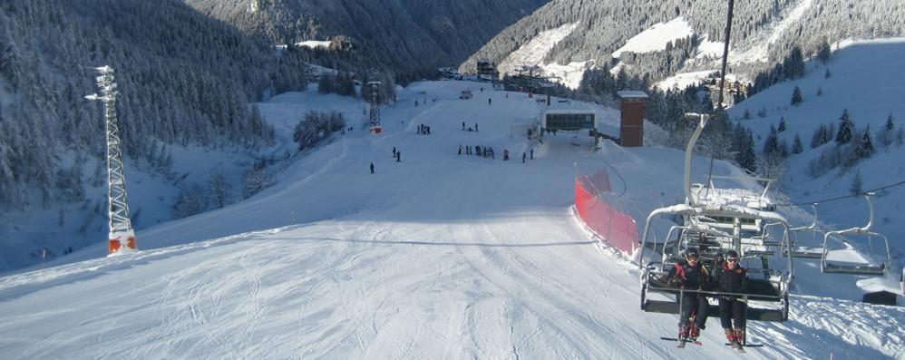 Bella neve a Foppolo, si scia Aperto tutto il comprensorio Bremboski
