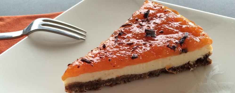 Colori e sapori d'agrumi per la nostra cheesecake