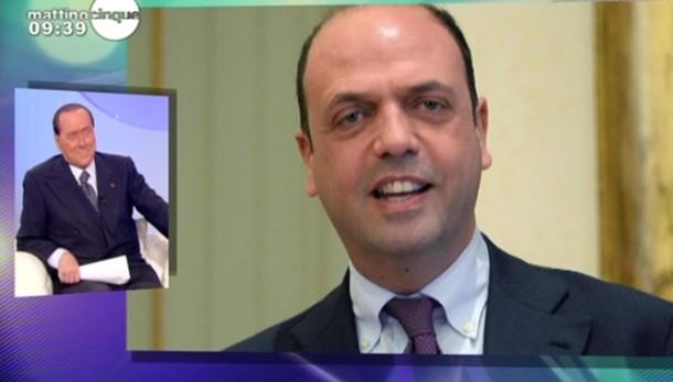 Incontro Berlusconi-Alfano a Milano