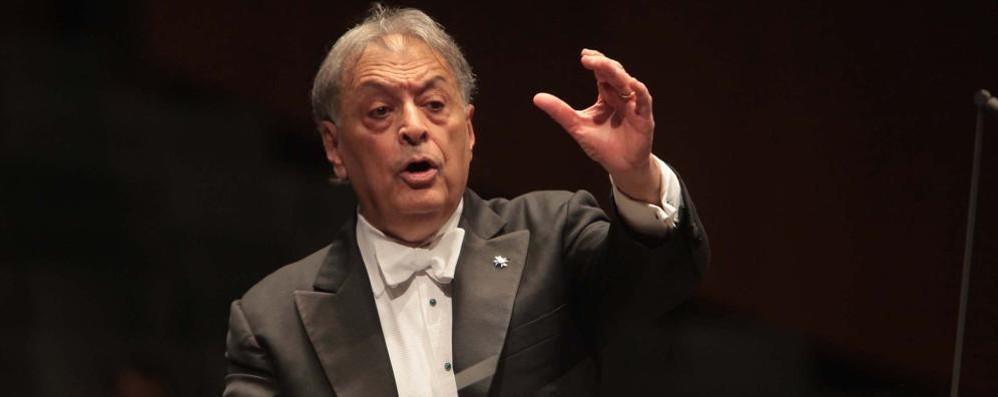 Un concerto a sostegno della ricerca Zubin Metha per il «Negri - Weizmann»