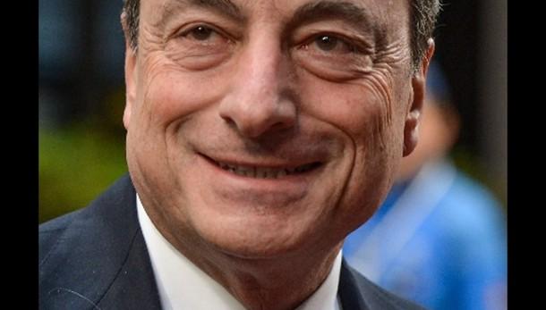 Draghi, rischi su prezzi in aumento