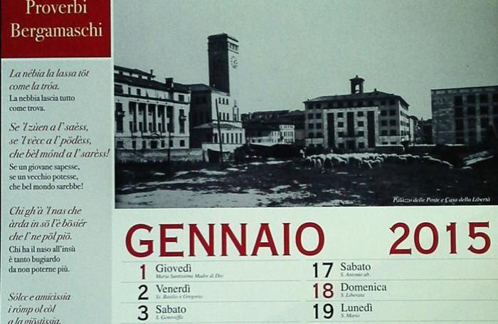 Il calendario del Comune di Bergamo
