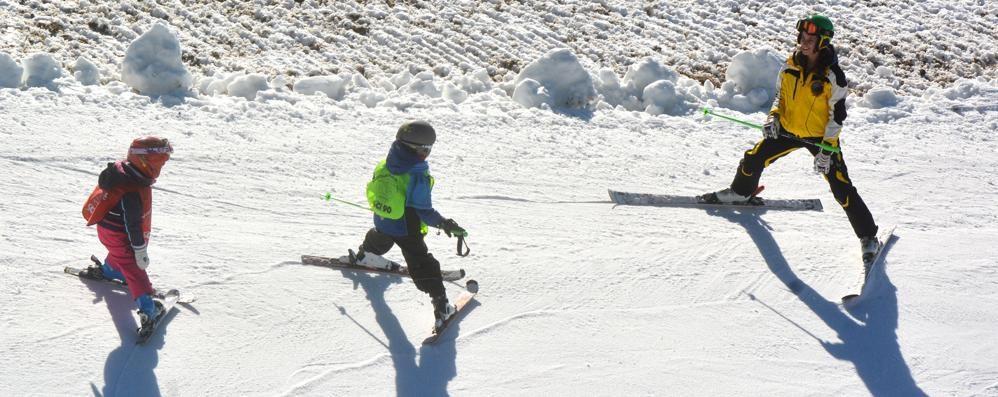 Sciatori, ecco il bollettino neve Impianti aperti in nove località