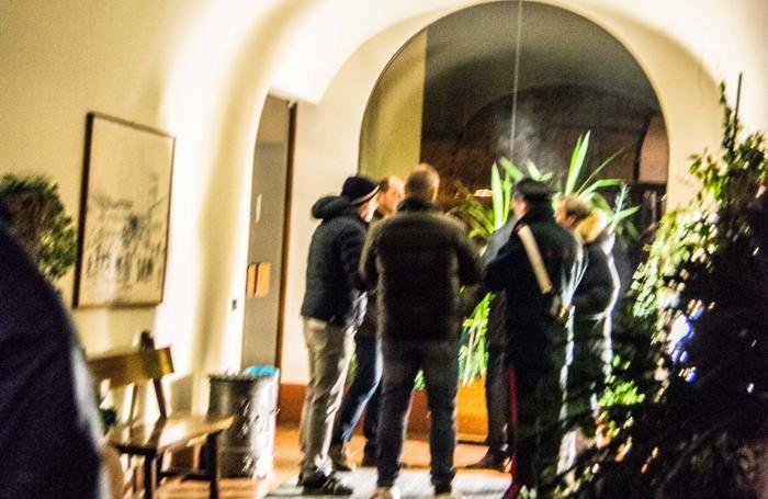 Il luogo dell'omicidio, un hotel di Trescore