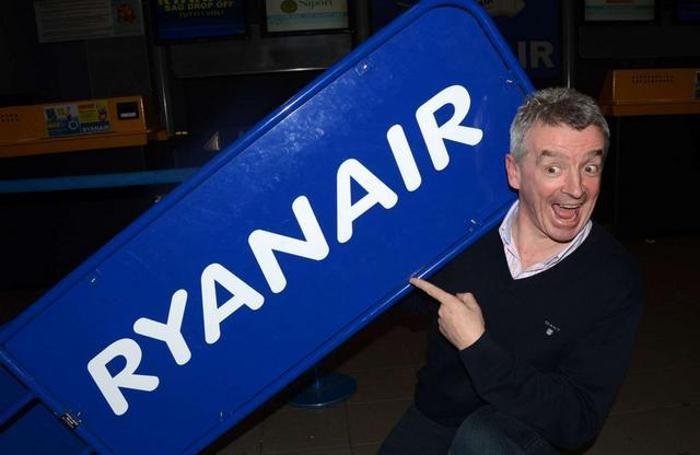 Michael O'Leary, padre padrone  di Ryanair