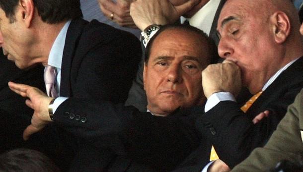 Milan: Berlusconi tranquillizza squadra