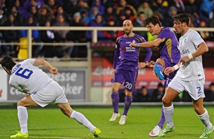 Gomez in azione