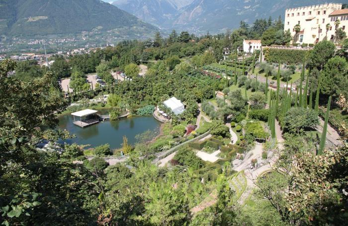 Giardini botanici di Castel Trauttmansdorff a Merano