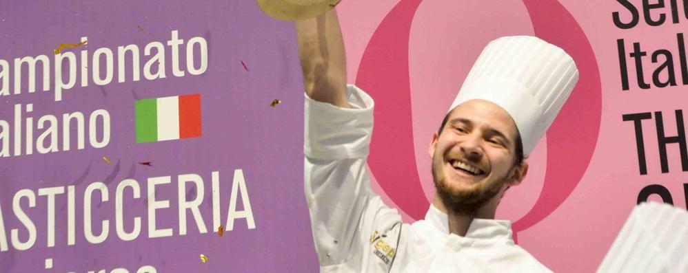 Un dolce premio a Rimini per un pasticciere bergamasco