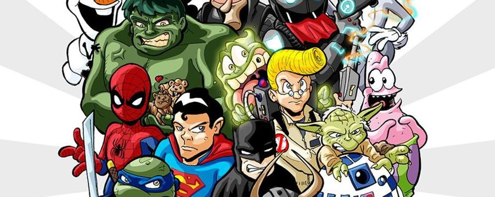 Il fantastico mondo dei fumetti ospite al Centro «Le Due Torri»
