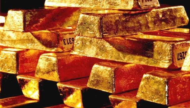 Oro: resta sotto 1.300 dlr dopo Draghi