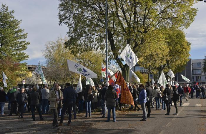 La protesta leghista del novembre scorso