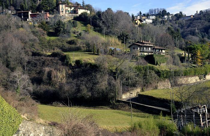 L'area di astino dell'Orto botanico