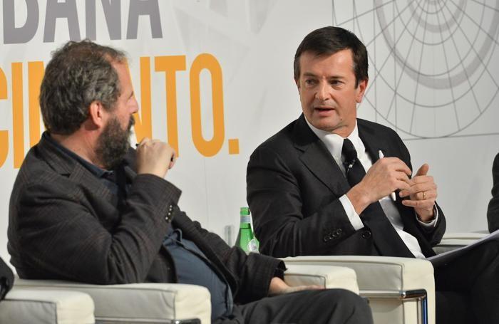 Mario Cucinella e Giorgio Gori